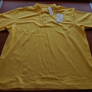 BNWT Yellow XL Tommy Bahama Islandzone Polo Shirt